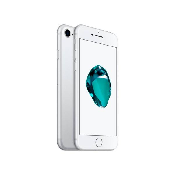Apple iphone 7 32gb plata reacondicionado cpo móvil 4g 4.7'' retina hd/4core/32gb/2gb ram/12mp/7mp