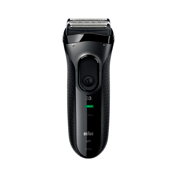 Braun serie 3 3020s afeitadora eléctrica lavable bajo el grifo negra