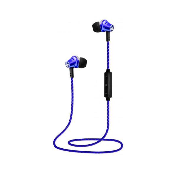 Lauson eh218 azul auriculares inalámbricos bluetooth con micrófono integrado