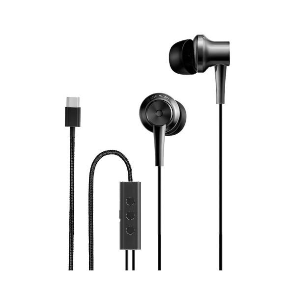 Xiaomi mi anc type-c negros auriculares de botón con manos libres y conexión usb tipo c