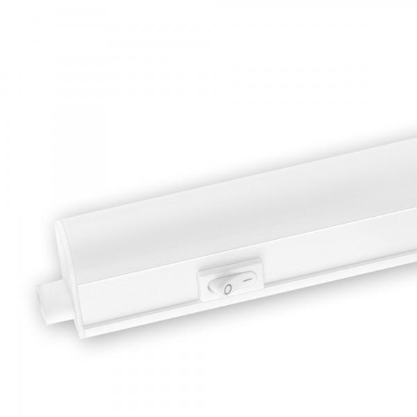 Regleta led integra.c/interr. 8w.55cm.f