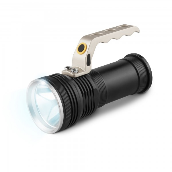 Linterna led coche metal.recargable 5w