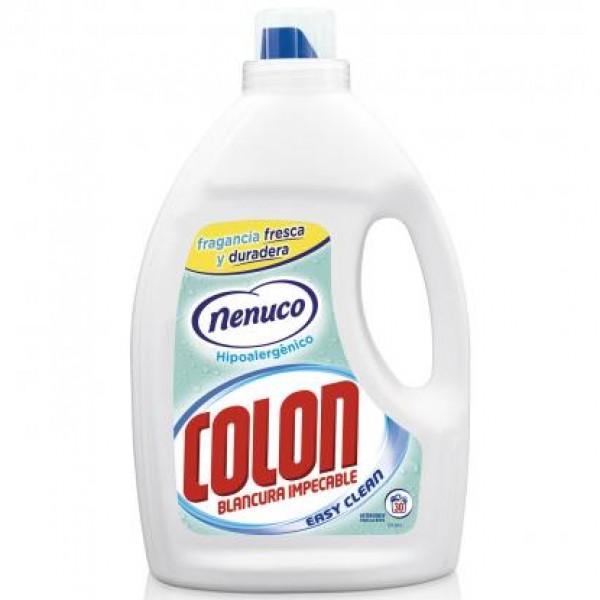 Colon Detergente gel blancura impecable fragancia nenuco gel activo 31 dosis