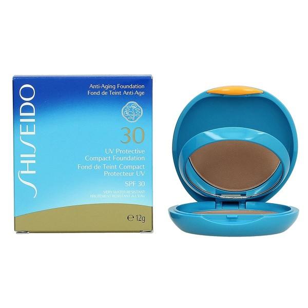 Shiseido un protective polvos bronceadores spf30 medium beige