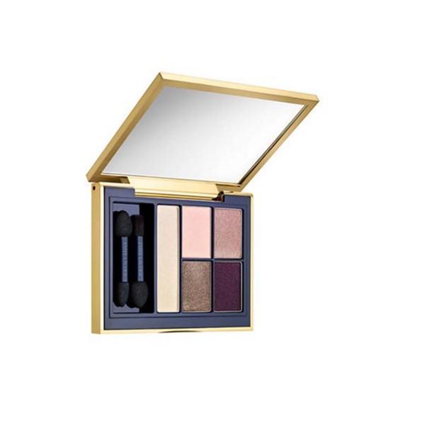 Estee lauder pure color envy sculpting eyeshadow 5 color palette 06 currant desire