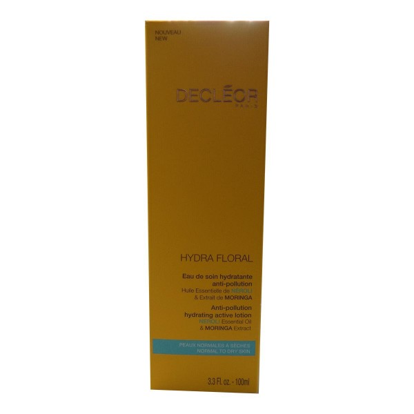 Decleor hydrafloral eau de soin hydratante anti-pollution piel normal 100ml vaporizador