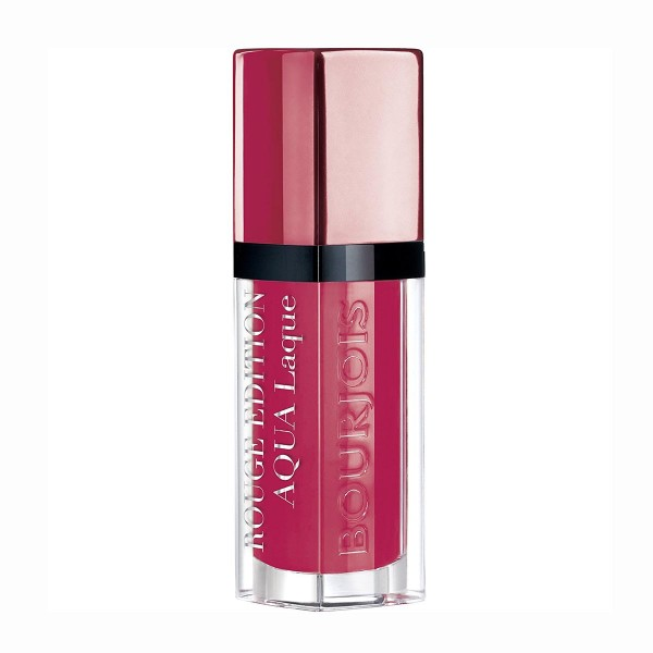 Bourjois rouge edition aqua laque barra de labios 07 fucshia perche