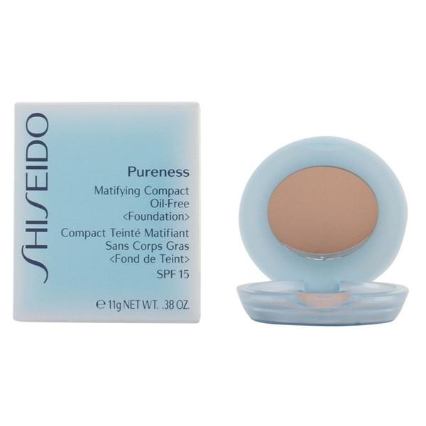 Shiseido pureness matifying compact oil free 50 deep ivory