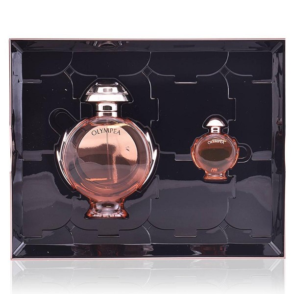 Paco rabanne olympea aqua eau de parfum 80ml vaporizador + miniatura 6ml