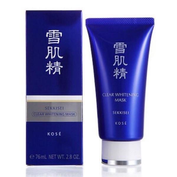 Sekkisei clear whitening mask 80ml