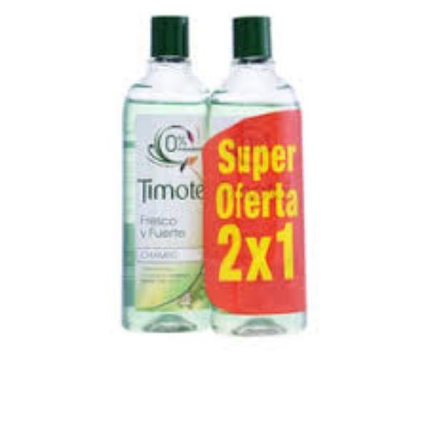 TIMOTEI CHAMPU FRESCO Y FUERTE 400 ml  2 x 1