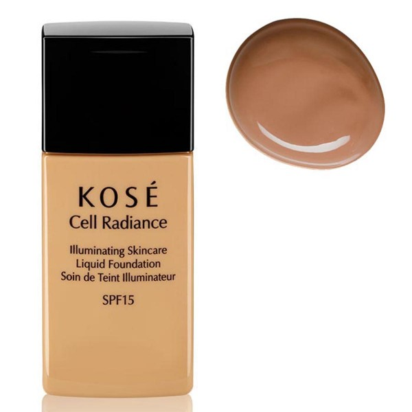 Kose cell radiance illuminating liquid foundation 204 light tan 30ml