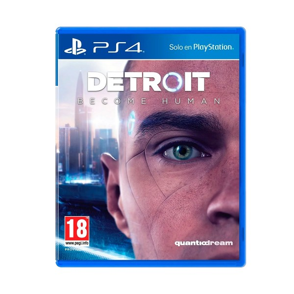 Sony juego ps4 detroit: become human con bluray de regalo
