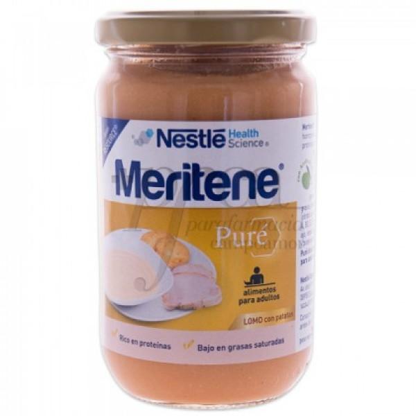 MERITENE PURE LOMO CON PATATAS 300G