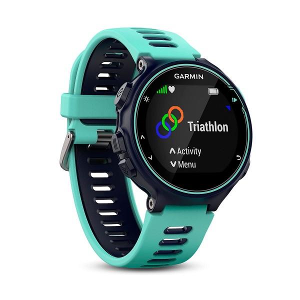 Garmin forerunner 735xt turquesa/azul reloj multideporte gps glonass monitor de frecuencia cardíaca 5 atm