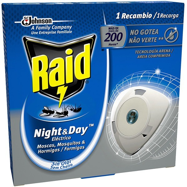 Raid Night & Day recambio