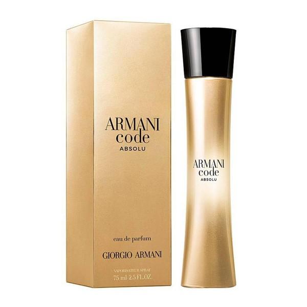Giorgio armani code absolu eau de parfum 75ml vaporizador