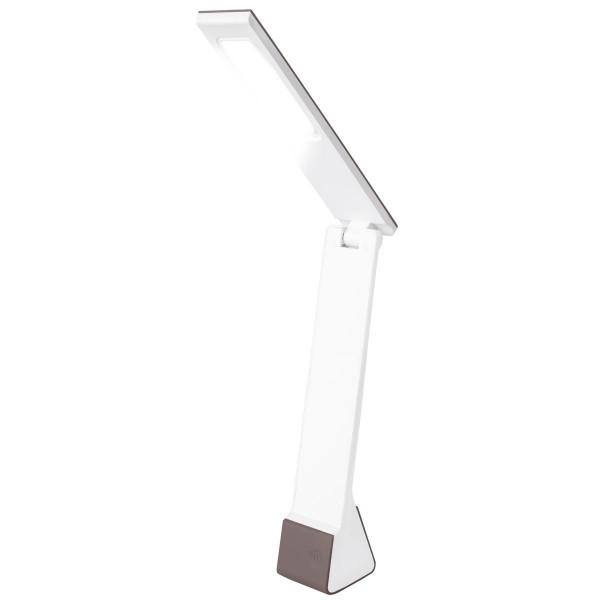 Lampara led  4 w. recargable gris