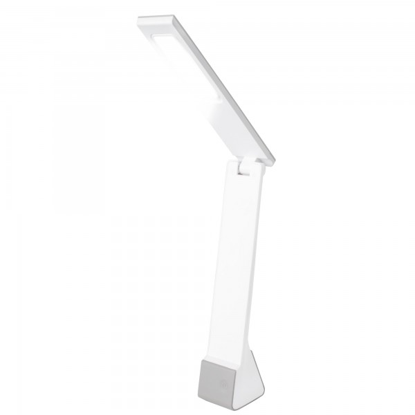Lampara led  4 w. recargable plata