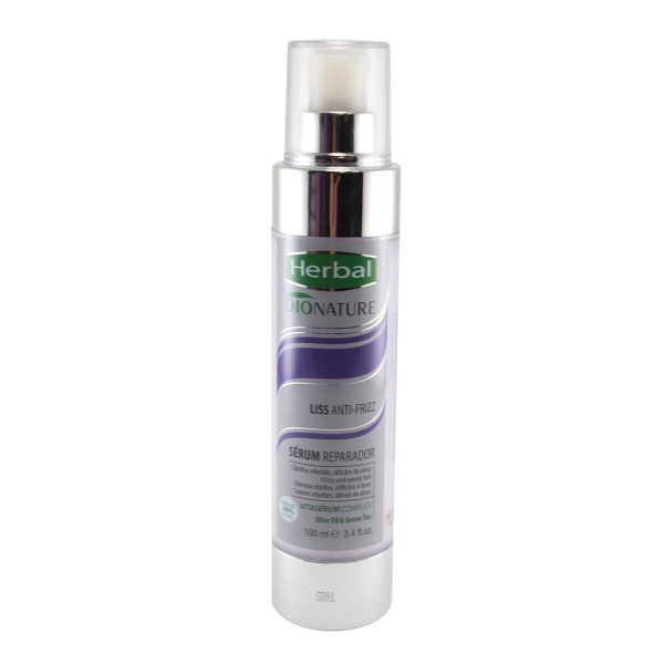 Herbal bionature liss anti-frizz serum reparador 100ml
