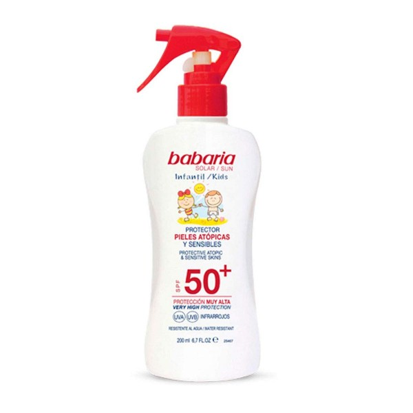 Babaria sol.infantil spray pr.piel atop.fp50+200ml