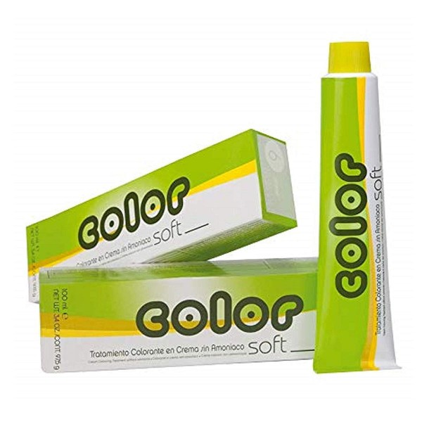 Salerm color soft tratamiento colorante crema sin amoniaco f1 100ml