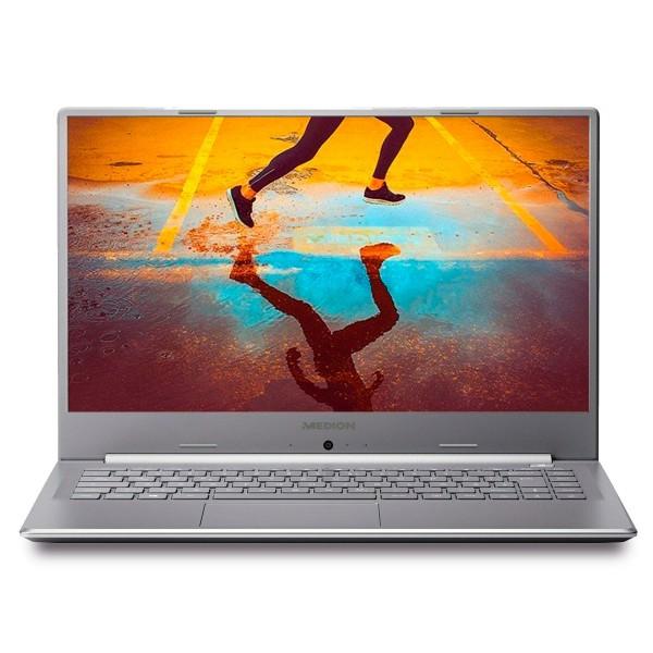 Medion akoya e6247 plata portátil 15.6'' fullhd intel celeron n4020 256gb ssd 8gb ram freedos